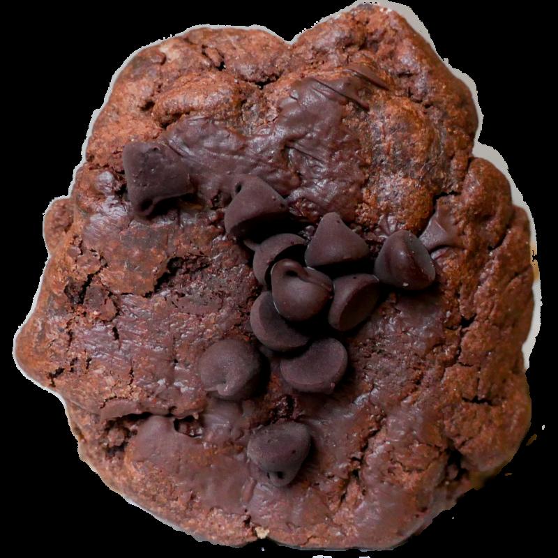 Gluten Free Double Choco Brownie + $1.00